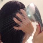利尻カラーシャンプーを使用する前にシャワーでお湯洗いをすると、汚れが落ち泡立ちも良くなりますので、結果的によく染まるようになると考えます。^^